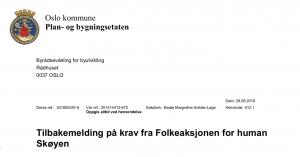 Medvirkning plan bygningsetaten PBE Oslo kommune