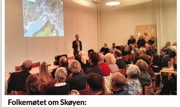 Folkemøtet til Ullern Venstre viser at omreguleringen for Skøyen ikke skulle ha vært fremlagt