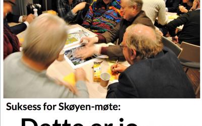 """Fantastisk"" kafédialog på Skøyen"